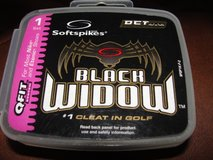 "SOFTSPIKES ""BLACK WIDOW"" FOR GOLF SHOES in Camp Lejeune, North Carolina"