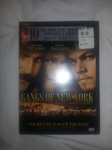 NIP Gangs of New York dvd in Camp Lejeune, North Carolina