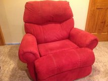 Large swivel rocker - very comfortable! in Naperville, Illinois