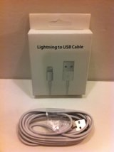 IPHONE 5/6/6+ LIGHTNING CHARGING CABLE ( 6' FOOT ) in Joliet, Illinois