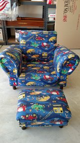 Boys Chair w/ ottoman (Price Lowered) in Temecula, California