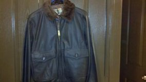 Brown Leather Jacket, Flying Man's (NEW)Lowered in Temecula, California