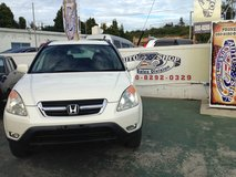 2002 Honda CRV - 90,xxx KMS - Pearl White - New Tires - Clean - Excellent Family Car! Stop By Today in Okinawa, Japan