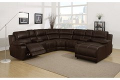 UF - Johnny Leatherette Living Room - Brand New!!! in Ramstein, Germany
