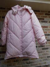 Girls Pink Winter Coat Size 14-16 in Glendale Heights, Illinois