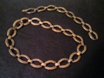 Vintage Retro copper necklace and bracelet in Spring, Texas