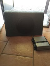 JL subwoofer and 500 watt amp in Gilroy, California