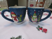 Snowman Christmas Mugs in Yorkville, Illinois