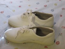 Ladies Keds White Leather Shoes in Cherry Point, North Carolina