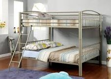 Metal Bunk Beds-Full Top with Full bottom. in Fort Irwin, California