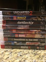 PS3 Games-Reduced in Fort Carson, Colorado