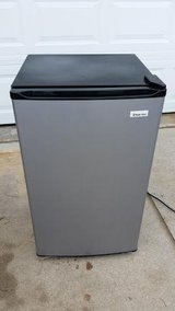 Stainless / Black Magic Chef 4.4 Cubic ft. Dorm Refrigerator in Fort Campbell, Kentucky