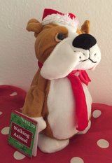 Animated singing dog in Vista, California