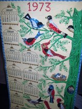 1973 Vintage Bedazzled calendar in Houston, Texas