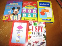 3 sets of Flashcards/ 2 games in Joliet, Illinois