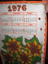 1976 Bedazzled vintage calendar in Houston, Texas