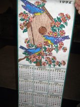 1992 Bedazzled calendar in Houston, Texas