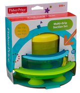 Fisher-Price Multi-Grip Suction Set plate/bowl/snacker bpa free in Houston, Texas