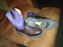 Arita steel toed boots sz 9 mens in Cleveland, Texas
