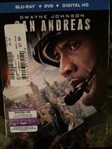 San Andreas Blu-Ray in Okinawa, Japan
