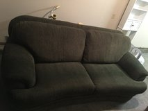 Over sized couch chair and ottoman in Fairfield, California