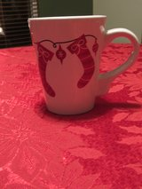 Christmas Mug with Stockings in Yorkville, Illinois