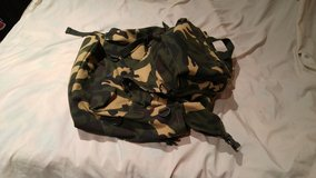 Canvas pack in Camp Pendleton, California