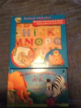 A to Z interactive kid book in St. Charles, Illinois
