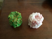 Pink And Green Home Made Candles in Alamogordo, New Mexico