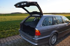 BMW 523i Touring automatic Station with new inspection in Ansbach, Germany