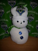 Sounders Snowman in Fort Lewis, Washington