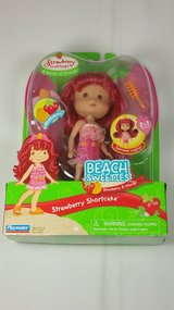 Brand new Strawberry Shortcake Beach Sweeties (Strawberry & Mango) toy doll in Tinley Park, Illinois