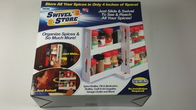 Swivel Store Organizer Storage System in Tinley Park, Illinois