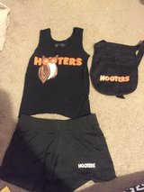Hooters girl outfit size xs black in Baytown, Texas