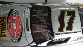 NASCAR 1/24 Scale Dicast Autographed Matt Kenseth in Cherry Point, North Carolina