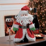 SANTA WINE BOTTLE COVER - NEW! in Bartlett, Illinois