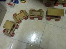 Kids wooden train in Baumholder, GE