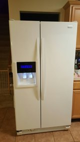 Kenmore Elite 26 cu Refrigerator (White) in Tomball, Texas