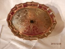 Copper Craft Brass Tray in Naperville, Illinois