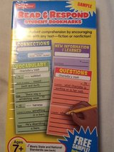 New Lakeshore Read and Respond student Bookmarks in Lockport, Illinois
