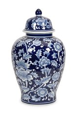 Tollmache Large Lidded Vase in Los Angeles, California