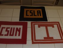 5  college logo  placemats in Kingwood, Texas