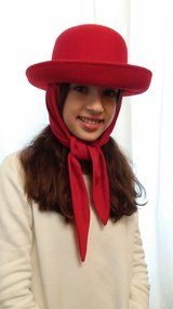 Vintage Hat Red in Wiesbaden, GE