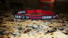 Texans dog collar in Tomball, Texas