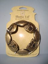 NEW Yankee Candle Illuma Lid 22oz & 14.5oz Jar CandleTopper FOOTBALL in Chicago, Illinois
