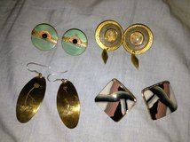 Gold Toned Earrings in Lockport, Illinois