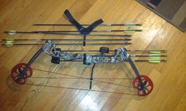 Compound bow in Beaufort, South Carolina