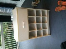 Shoe cabinet with drawer in Beaufort, South Carolina