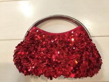 Red evening bag in Okinawa, Japan