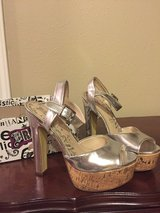 High Heel Party Shoes Sandals sz 6 in The Woodlands, Texas